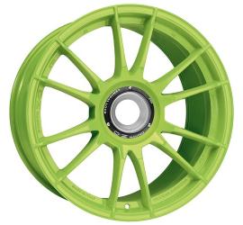Cerchi in lega OZ Racing ULTRALEGGERA HLT CL 20.00x11.50 ET 56 foratura 15x130 CB 84 ACID GREEN