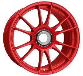 Cerchi in lega OZ Racing ULTRALEGGERA HLT CL 20.00x12.00 ET 47 foratura 15x130 CB 84 RED