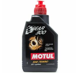 Motul Gear 300 75W90 1 lt Olio Cambio Differenziale Trasmissioni 100% Sintetico