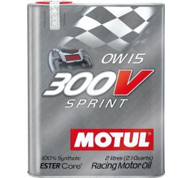 Motul 300V SPRINT 0W15 2lt olio motore