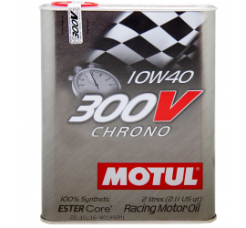 Motul 300V Chrono 10W-40 Olio Motore 2 litri