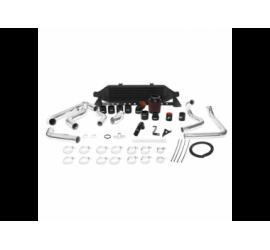 Subaru WRX 0814 Intercooler Fontale Kit + Intake Nero