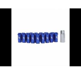 Mishimoto Dadi Alluminio M12 x 1.25 Blu