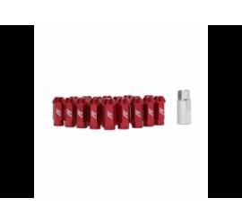 Mishimoto Dadi Alluminio M12 x 1.5 Rosso